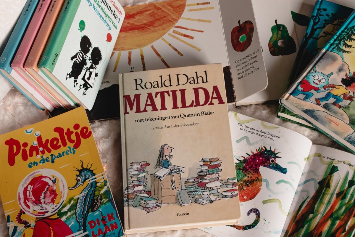 Favoriete boeken vanvroeger