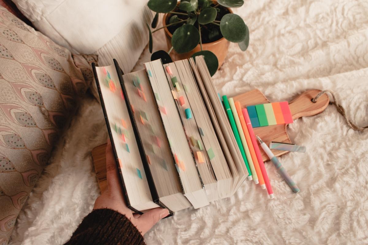 Waarom en hoe ik mijn boekenannoteer